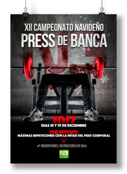 Gimnasio Nivel3 Press de Banca