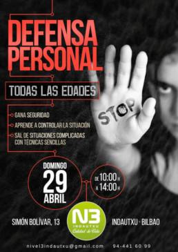 Curso defensa personal Bilbao